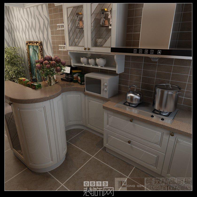 唯美小户型 小厨房,大设计 万通城2 X02